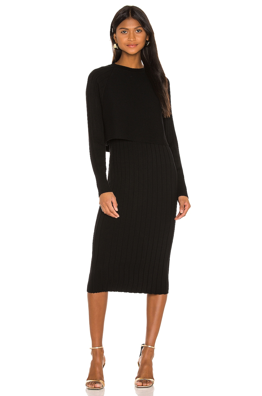 ALLSAINTS Tarun Dress in Black