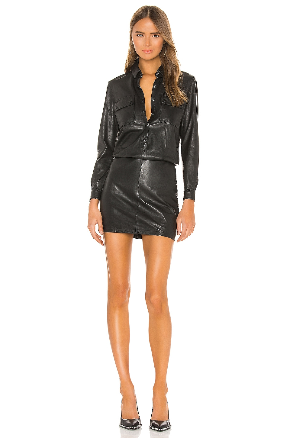 ALLSAINTS Kadi Dress in Black