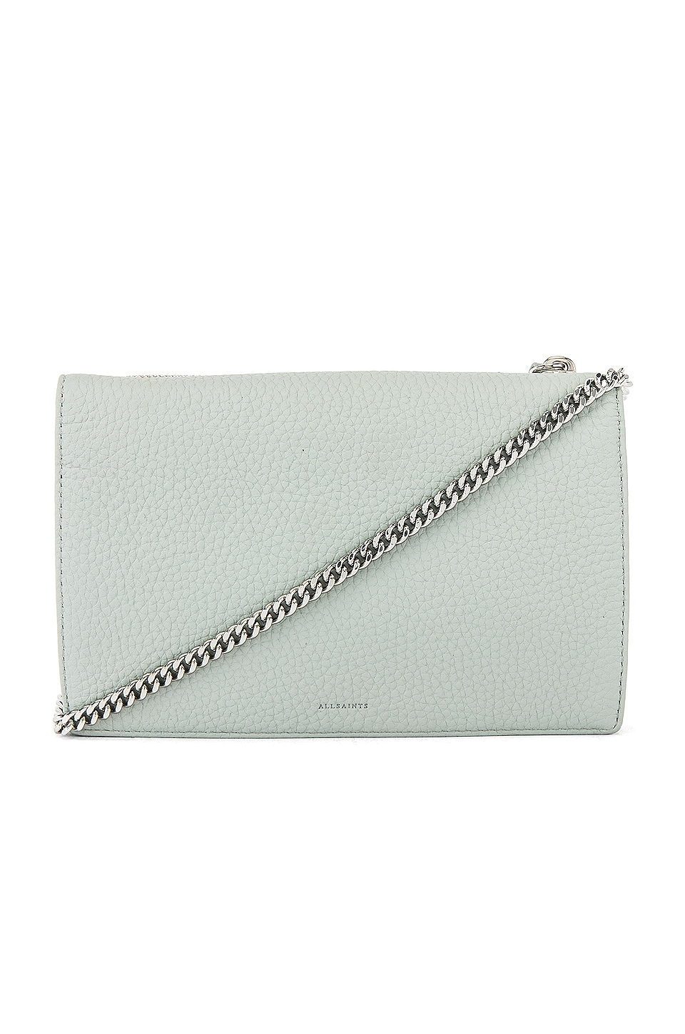 ALLSAINTS Fetch Chain Wallet in Sky Blue