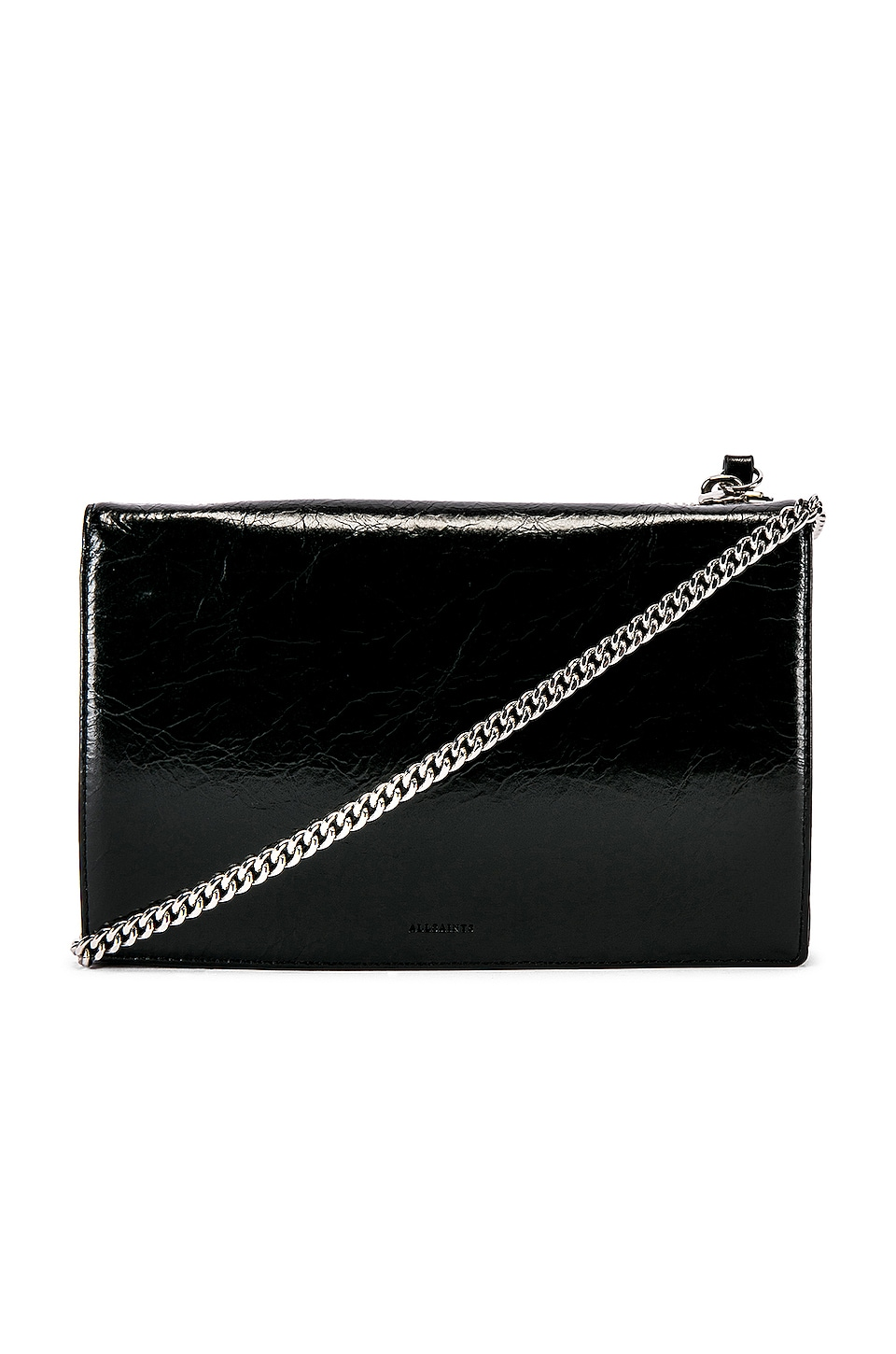 ALLSAINTS Fetch Chain Wallet in Black