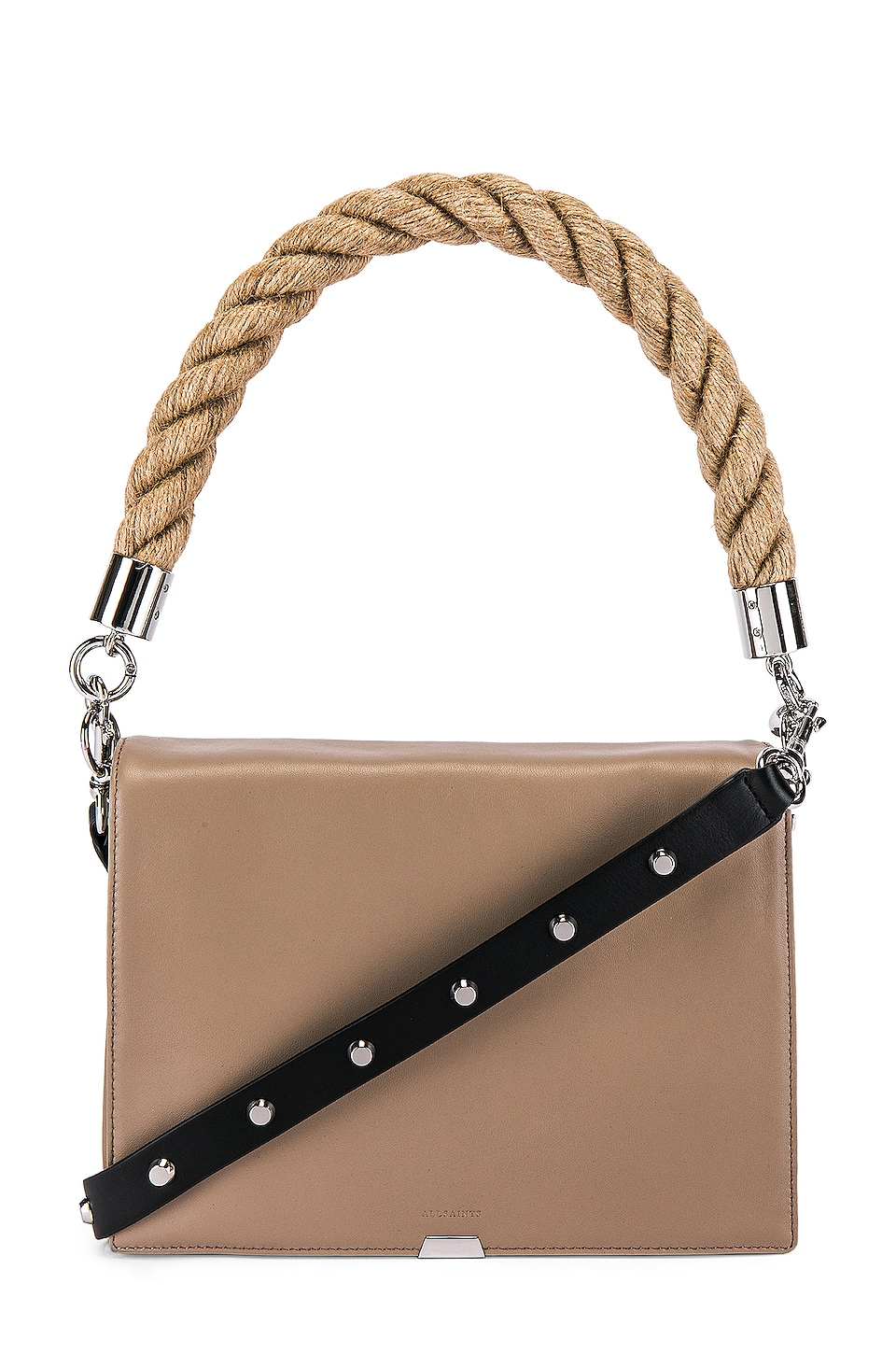 ALLSAINTS Harri Square Crossbody in Dune