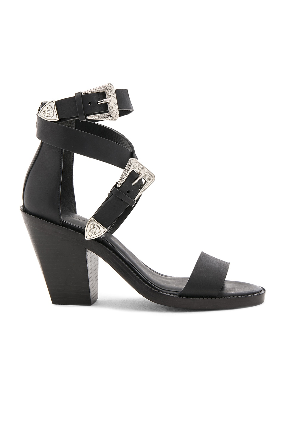 ALLSAINTS Viva Heel in Black