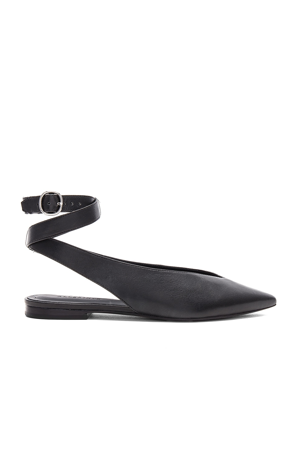 ALLSAINTS Cory Flat in Black