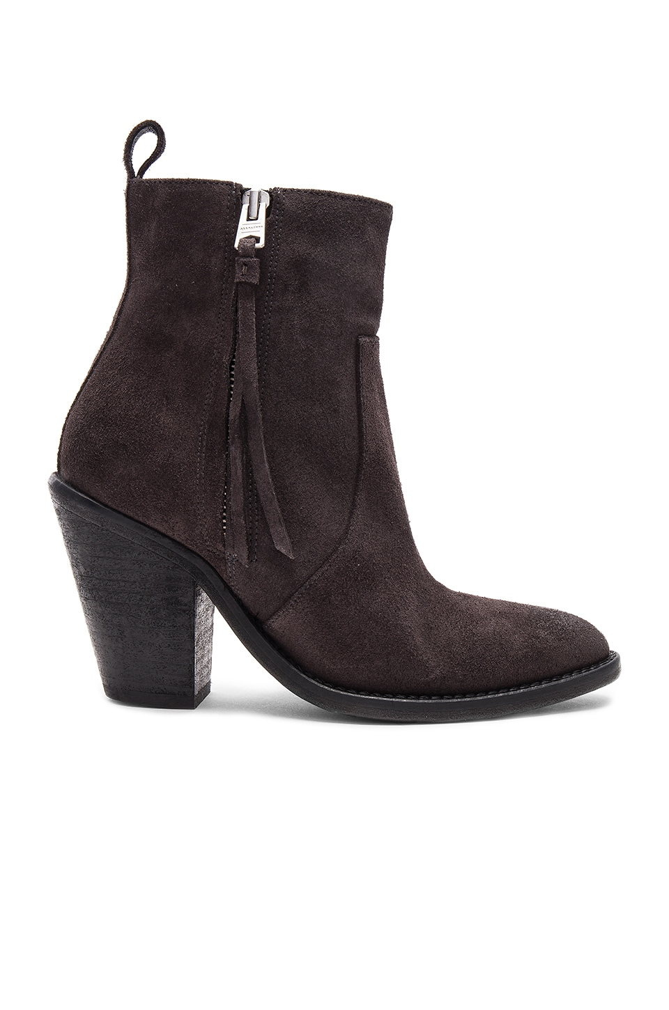 ALLSAINTS Lorna Bootie in Grey