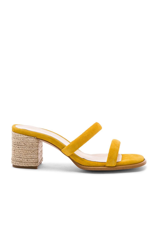 ALOHAS Laura Sandal in Bold Mustard