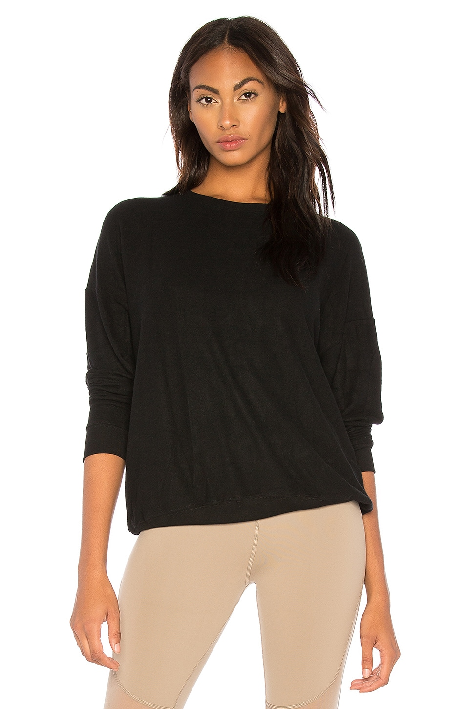 alo Soho Pullover in Black