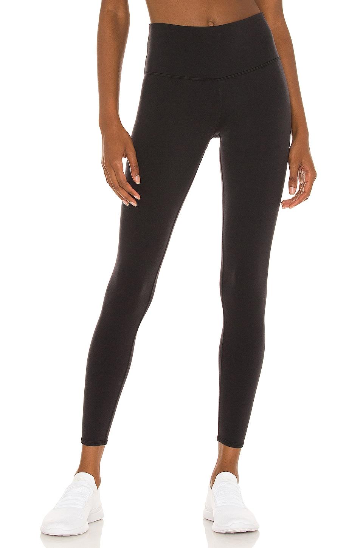 alo 7/8 High Waist Airbrush Legging in Black