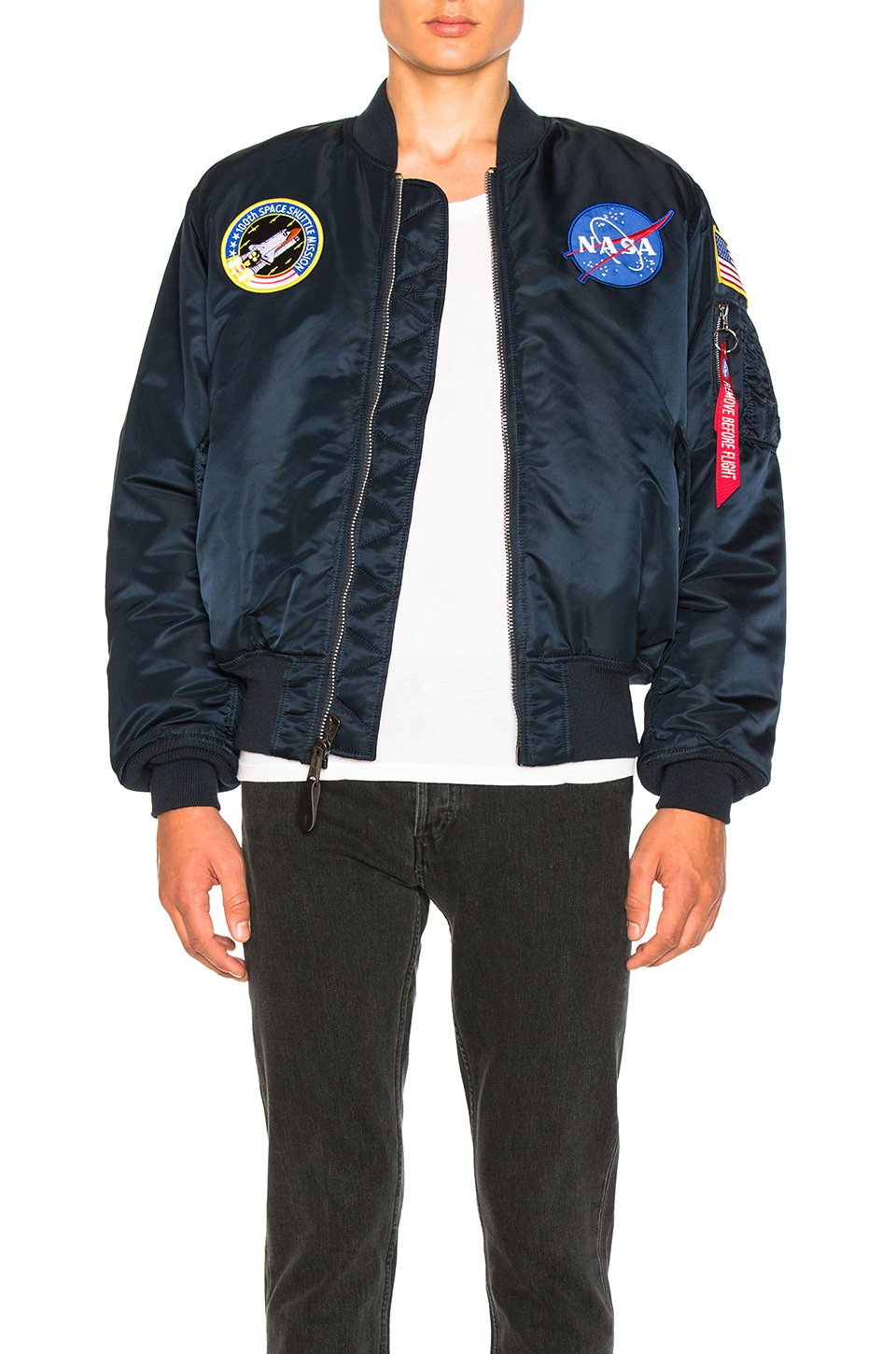 ALPHA INDUSTRIES CAZADORA NASA MA 1