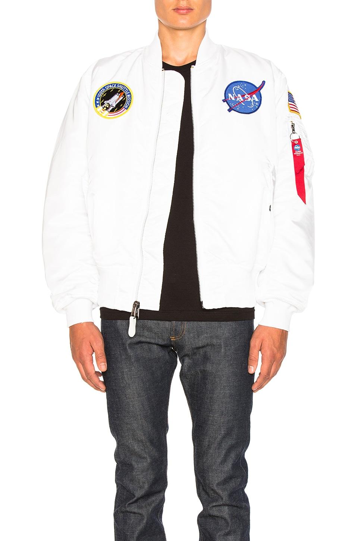 ALPHA INDUSTRIES CAZADORA MA 1 NASA