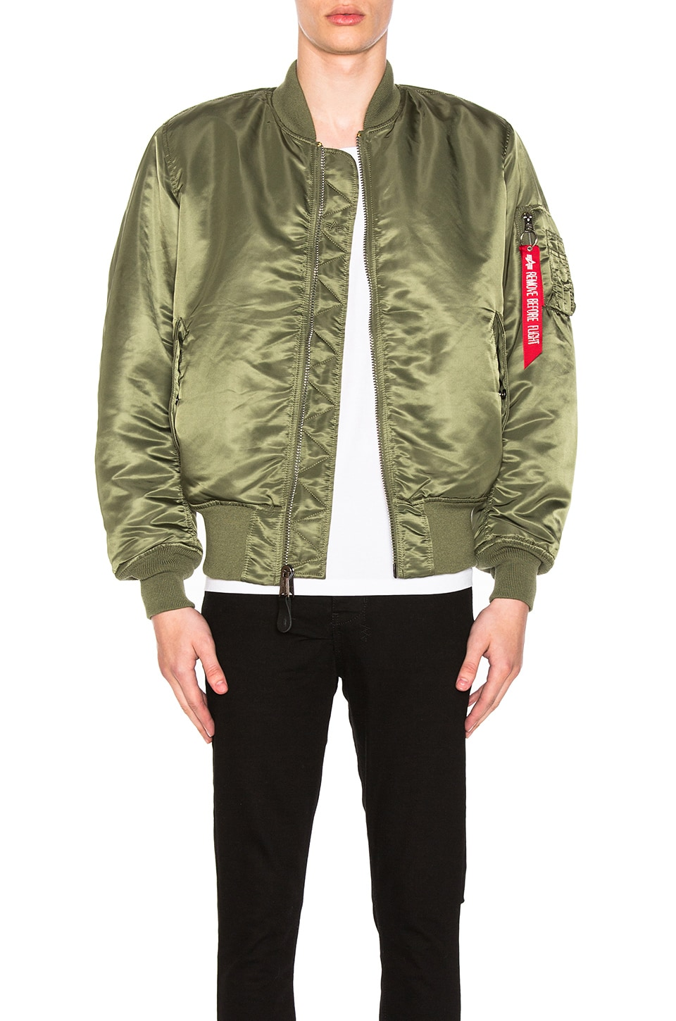 ALPHA INDUSTRIES CHAQUETA MA 1 BLOOD CHIT BOMBER