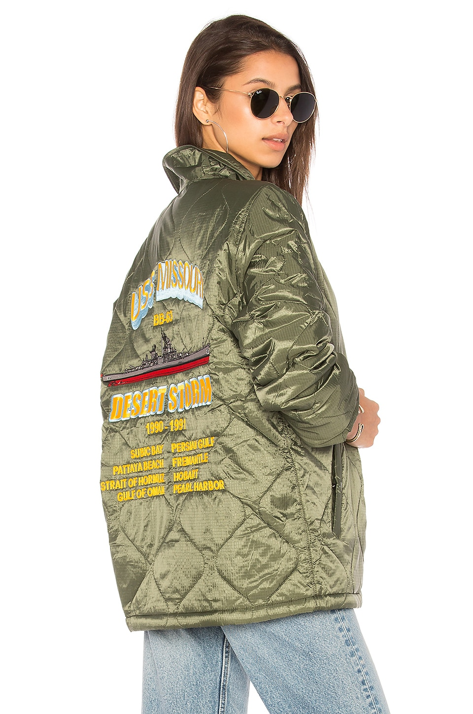 Quilted Storm Cruiser by ALPHA INDUSTRIES
