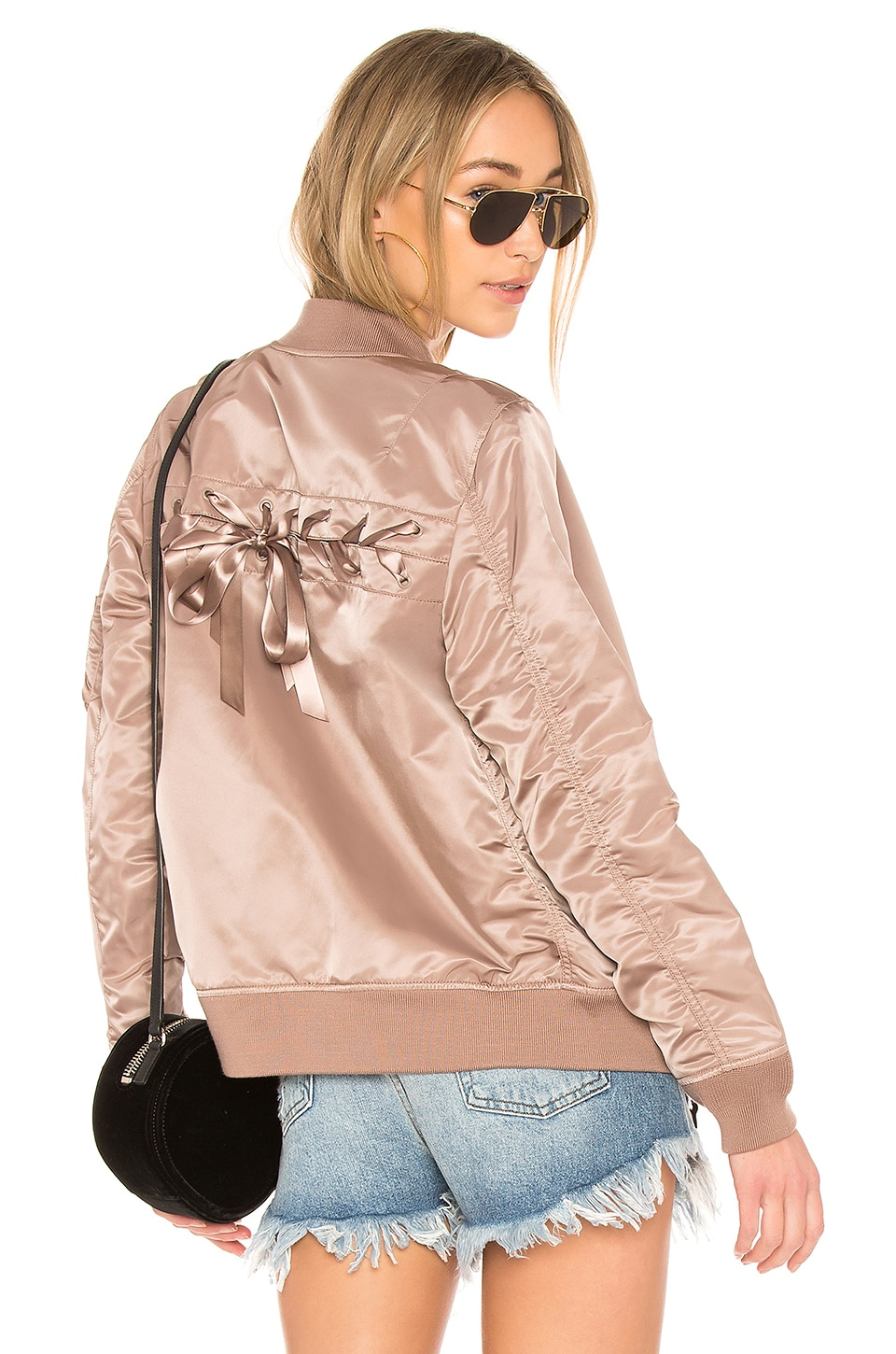 Laced Bomber Jacket
