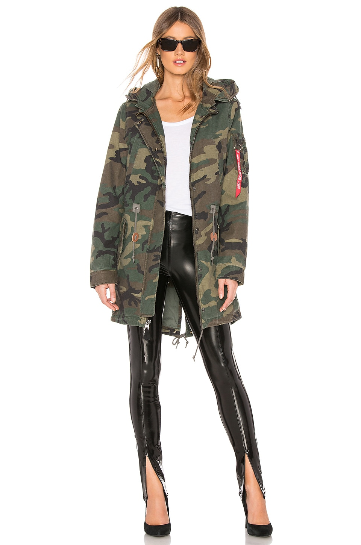 Meri Fishtail Field Coat