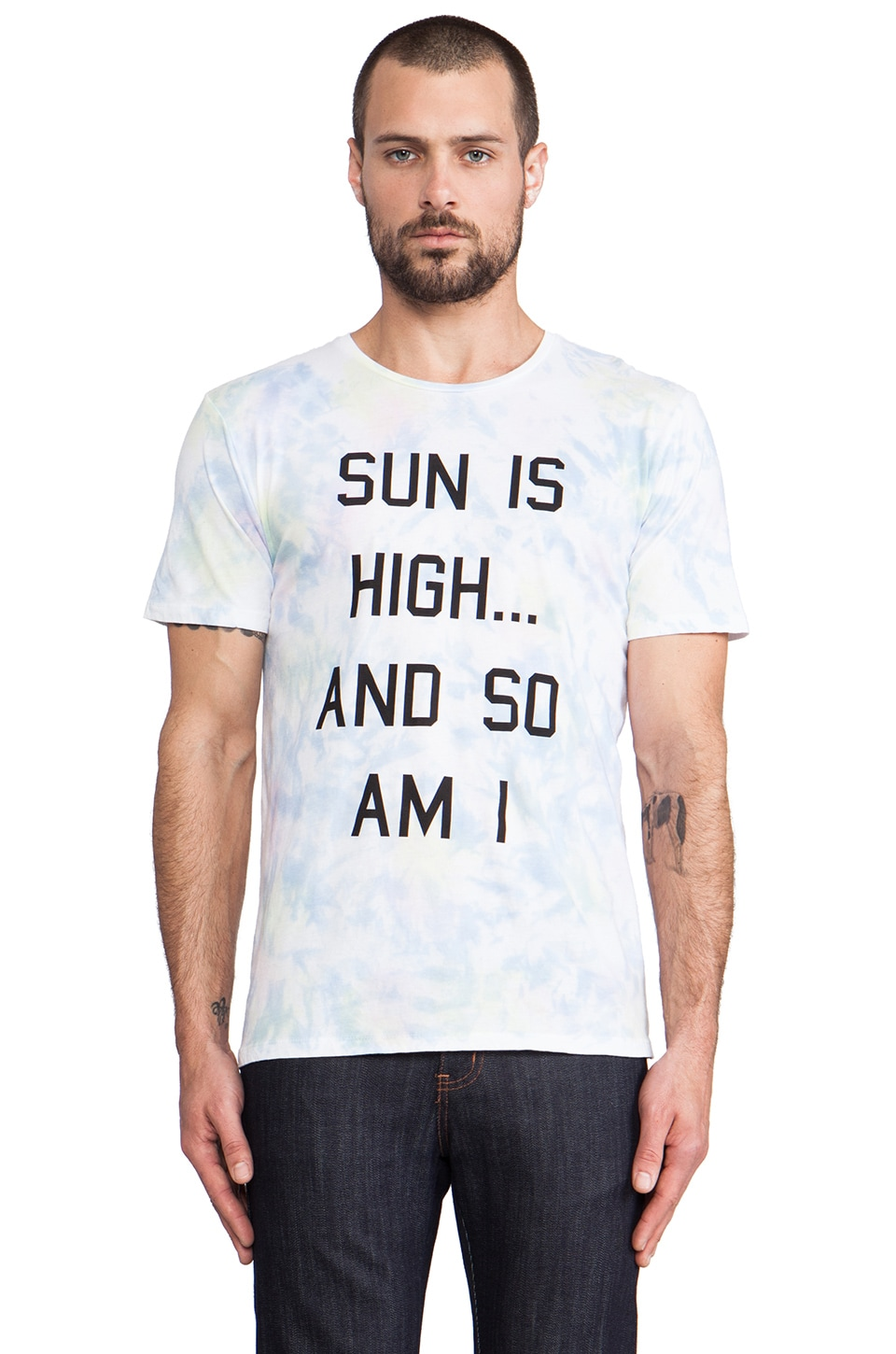 Altru Sun Is High Tee in Tiedye