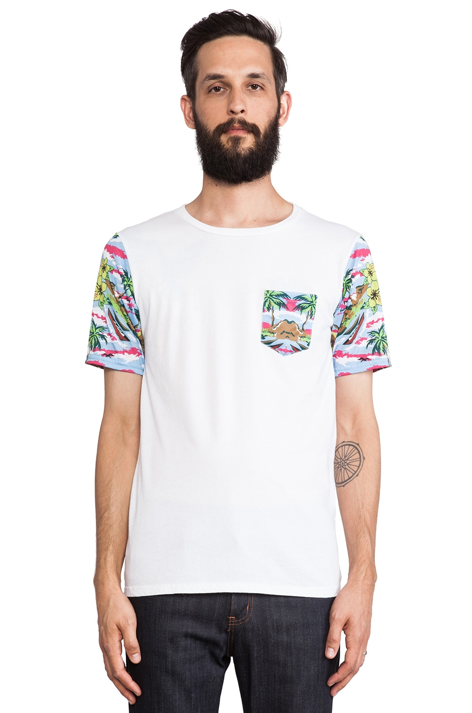 Altru Tropicalia Tee in Multi
