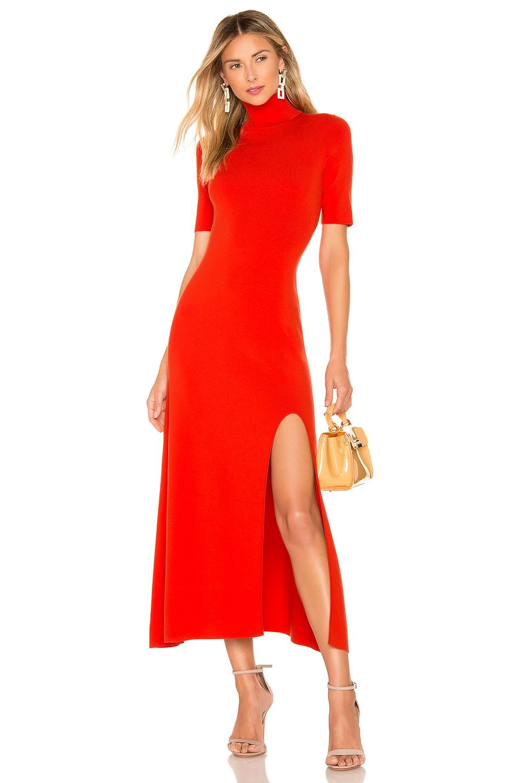 A.L.C. Caplan Dress in Tangerine