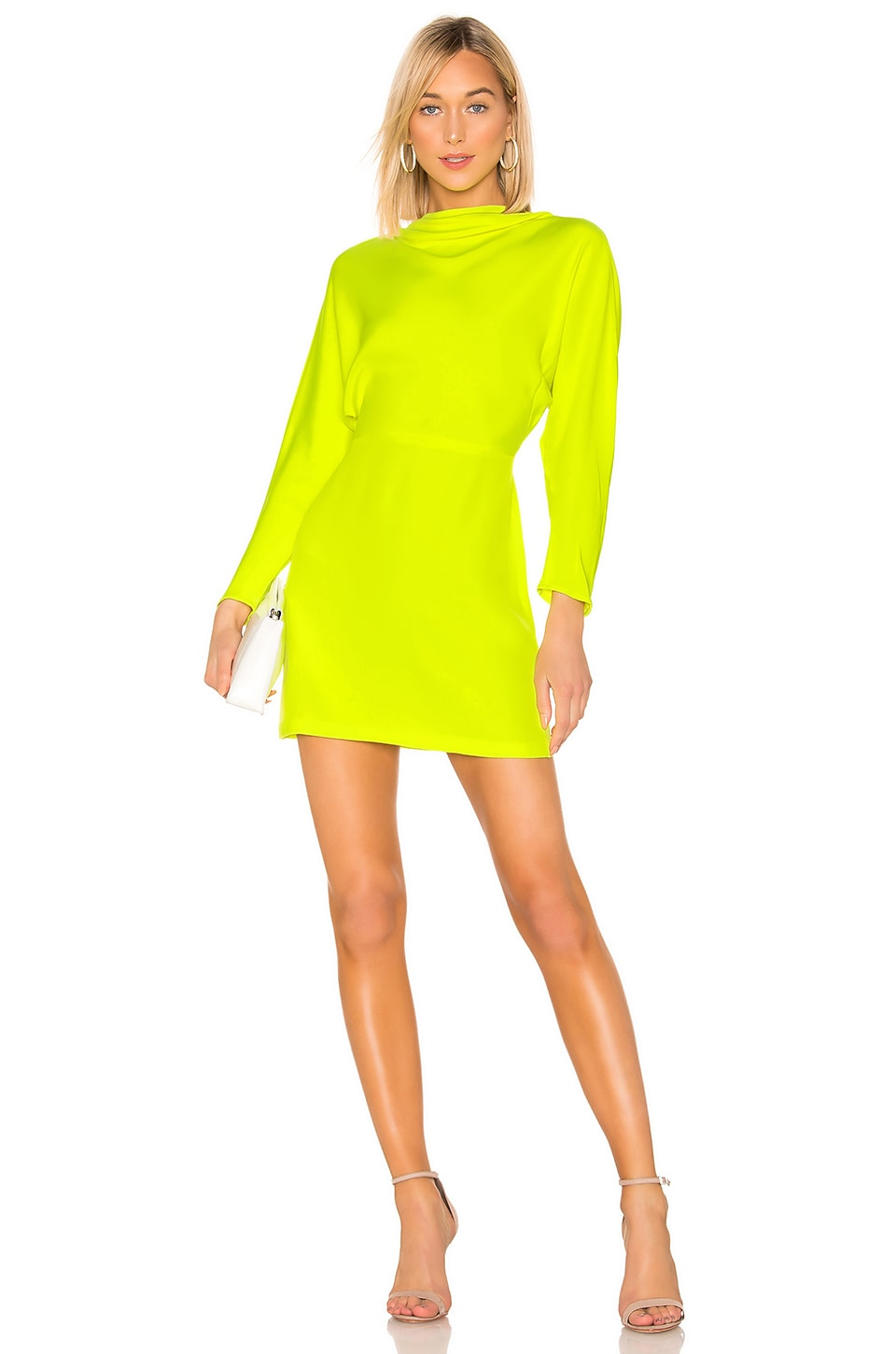 A.L.C. Marin Dress in Neon Yellow