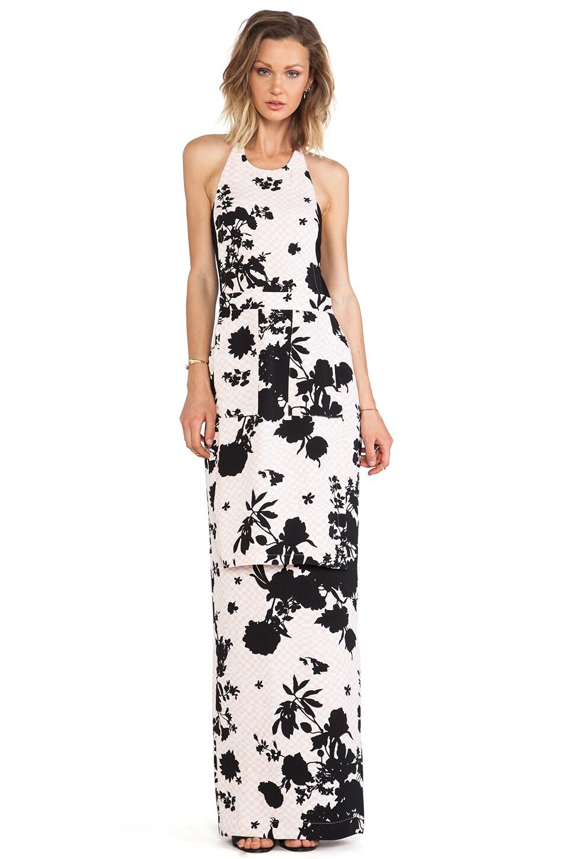 A.L.C. Halford Floral Dress in Blush