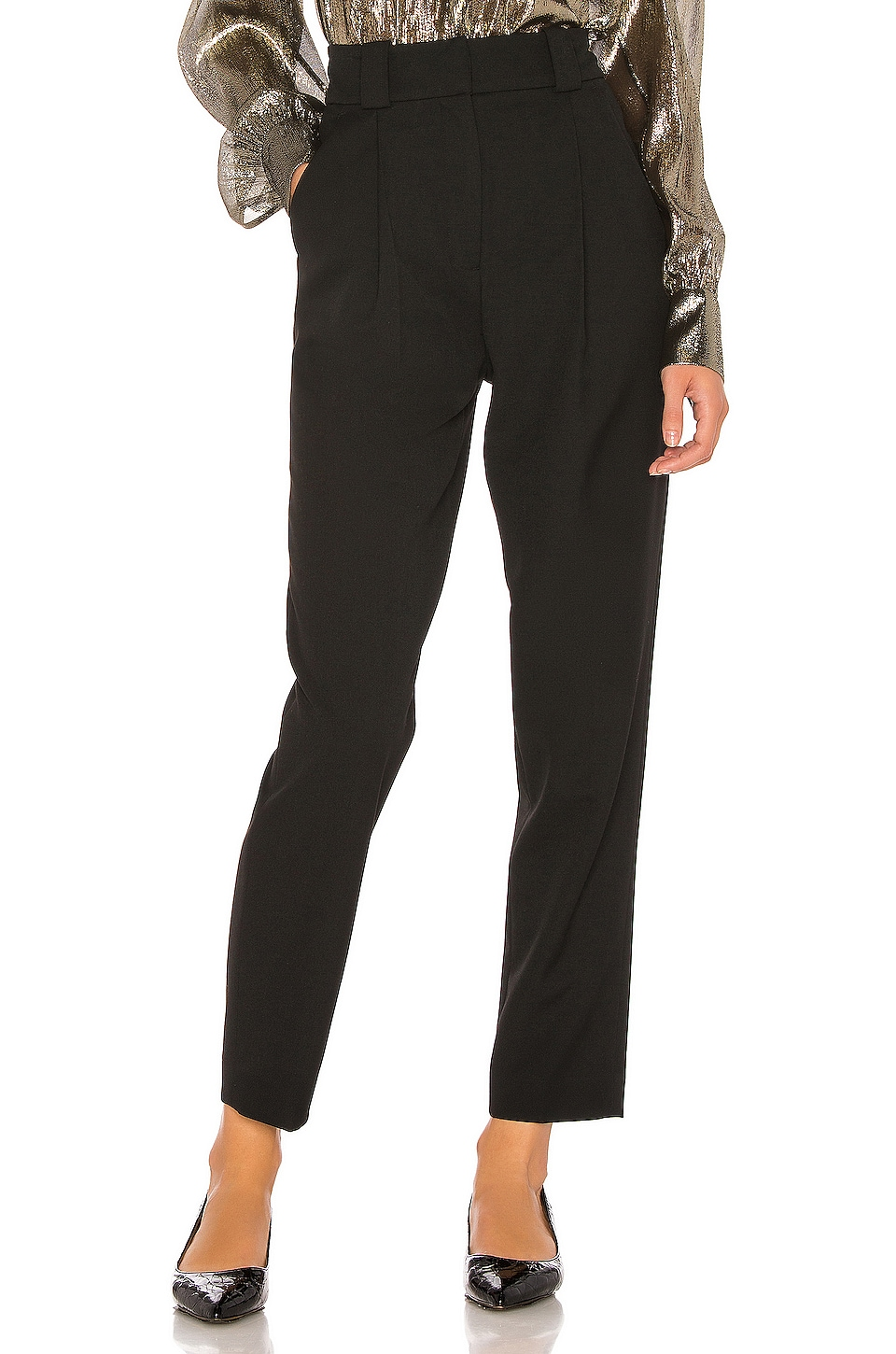 A.L.C. Colin Pant in Black