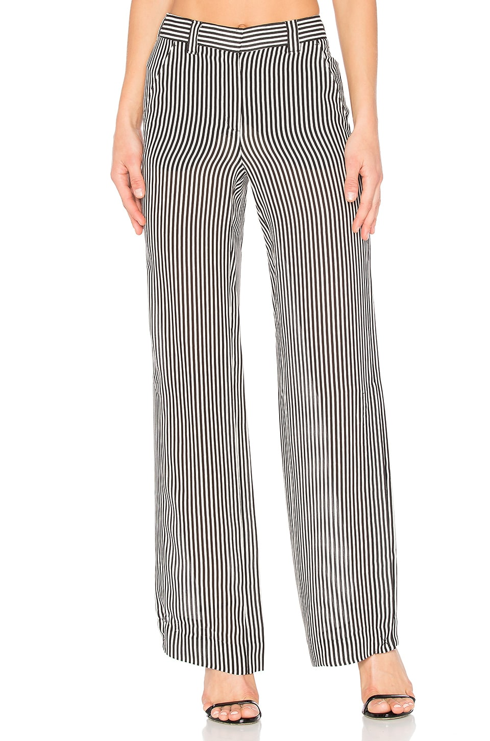 A.L.C. Miles Pant in Black & White