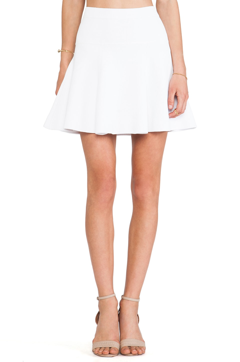 A.L.C. Connor Skirt in White