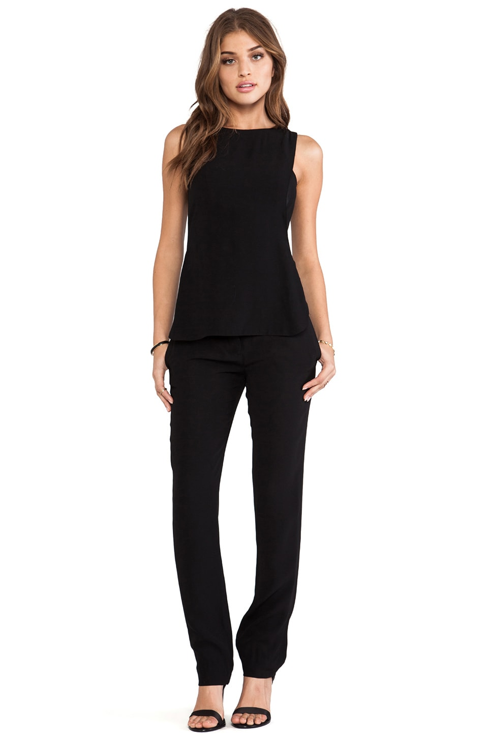A.L.C. Landom Jumpsuit in Black