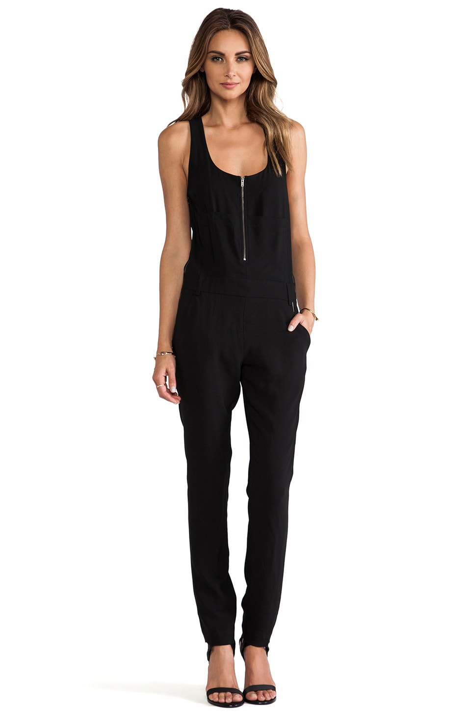 A.L.C. Georgia Jumpsuit in Black