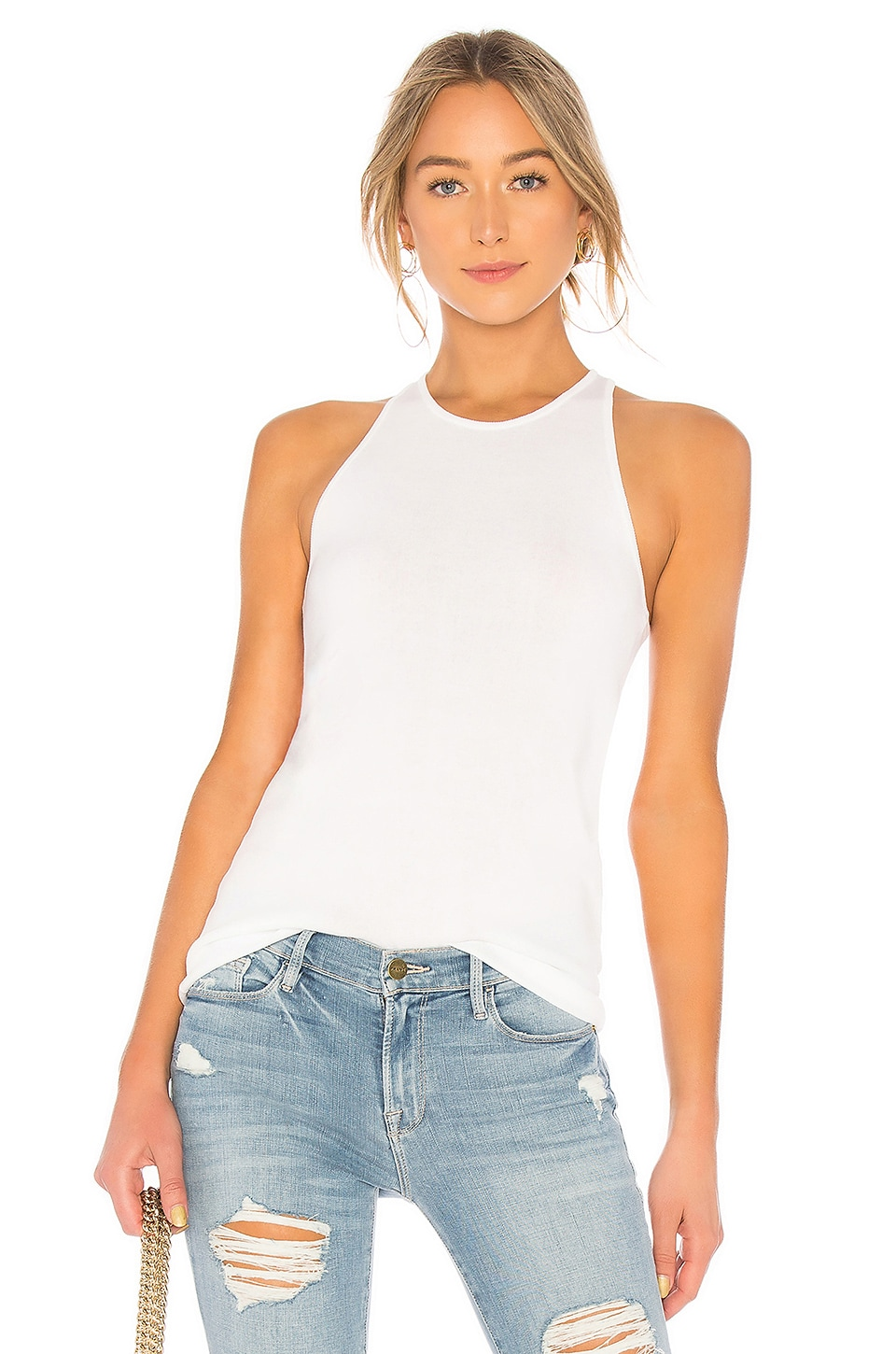 A.L.C. Nello Top in White