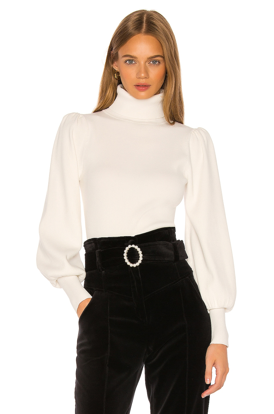 A.L.C. Karla Top in White