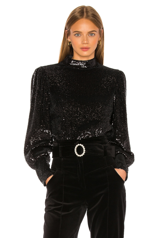 A.L.C. Margaret Top in Black