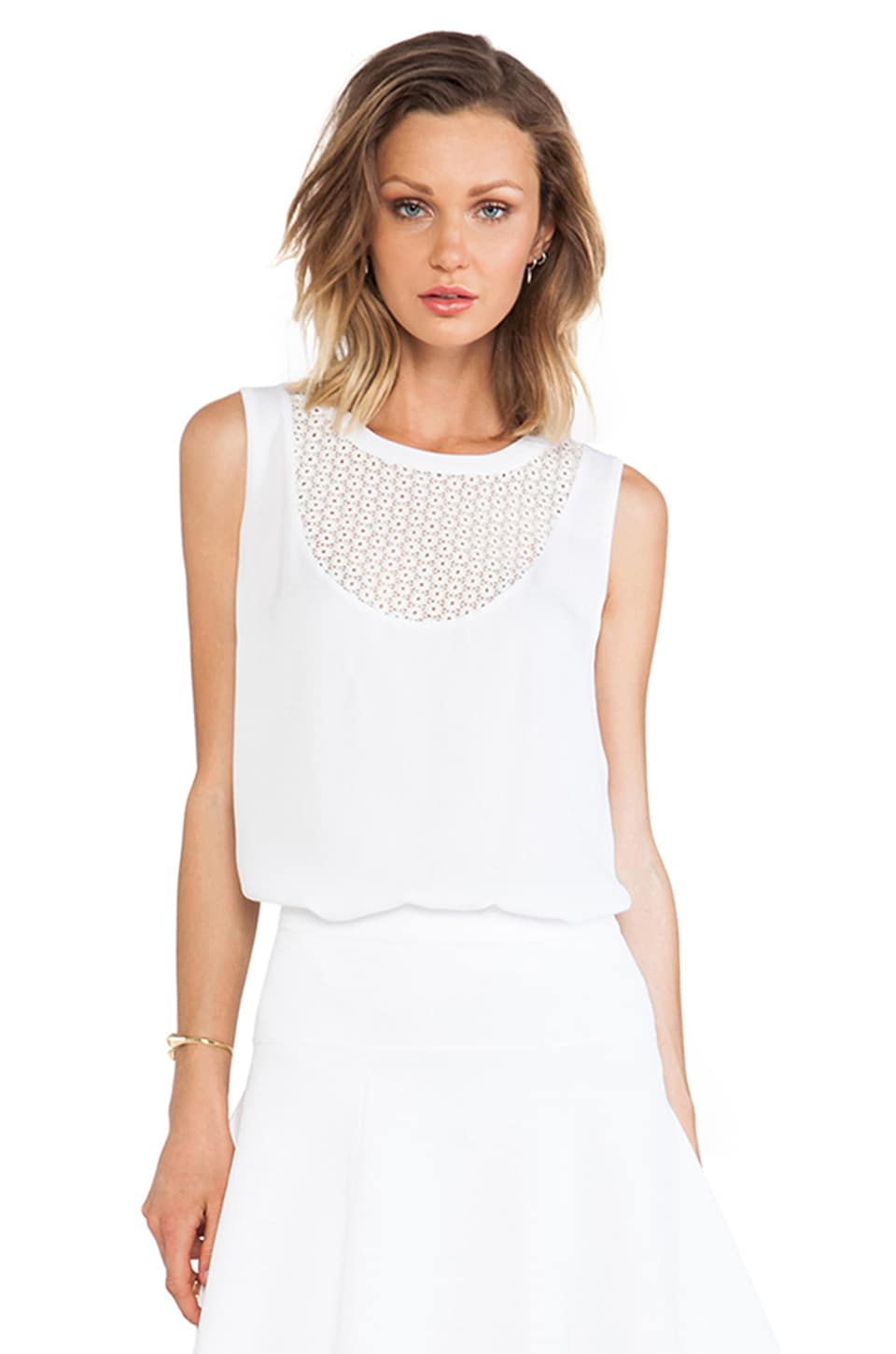 A.L.C. Effra Tank in White