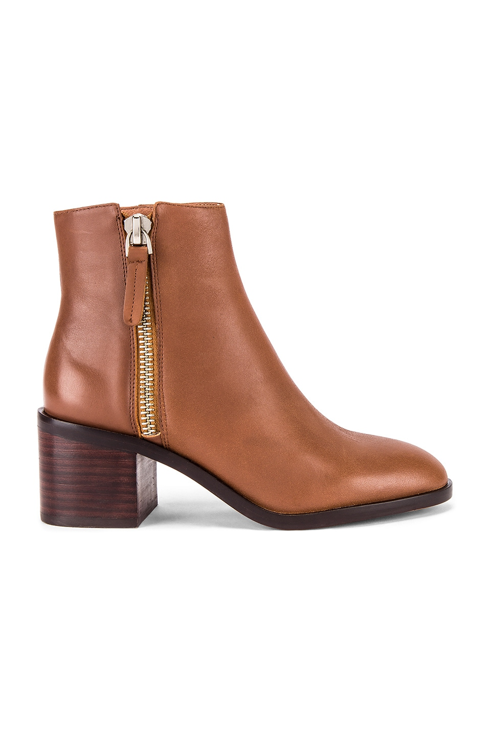 Alias Mae Gazelle Bootie in Tan Burnished