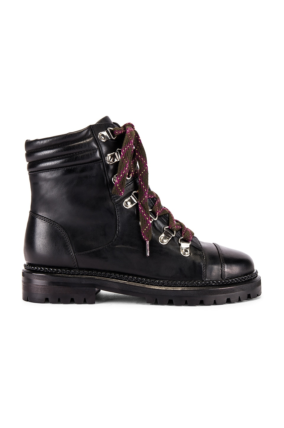 Alias Mae Pippa Boot in Black Burnished