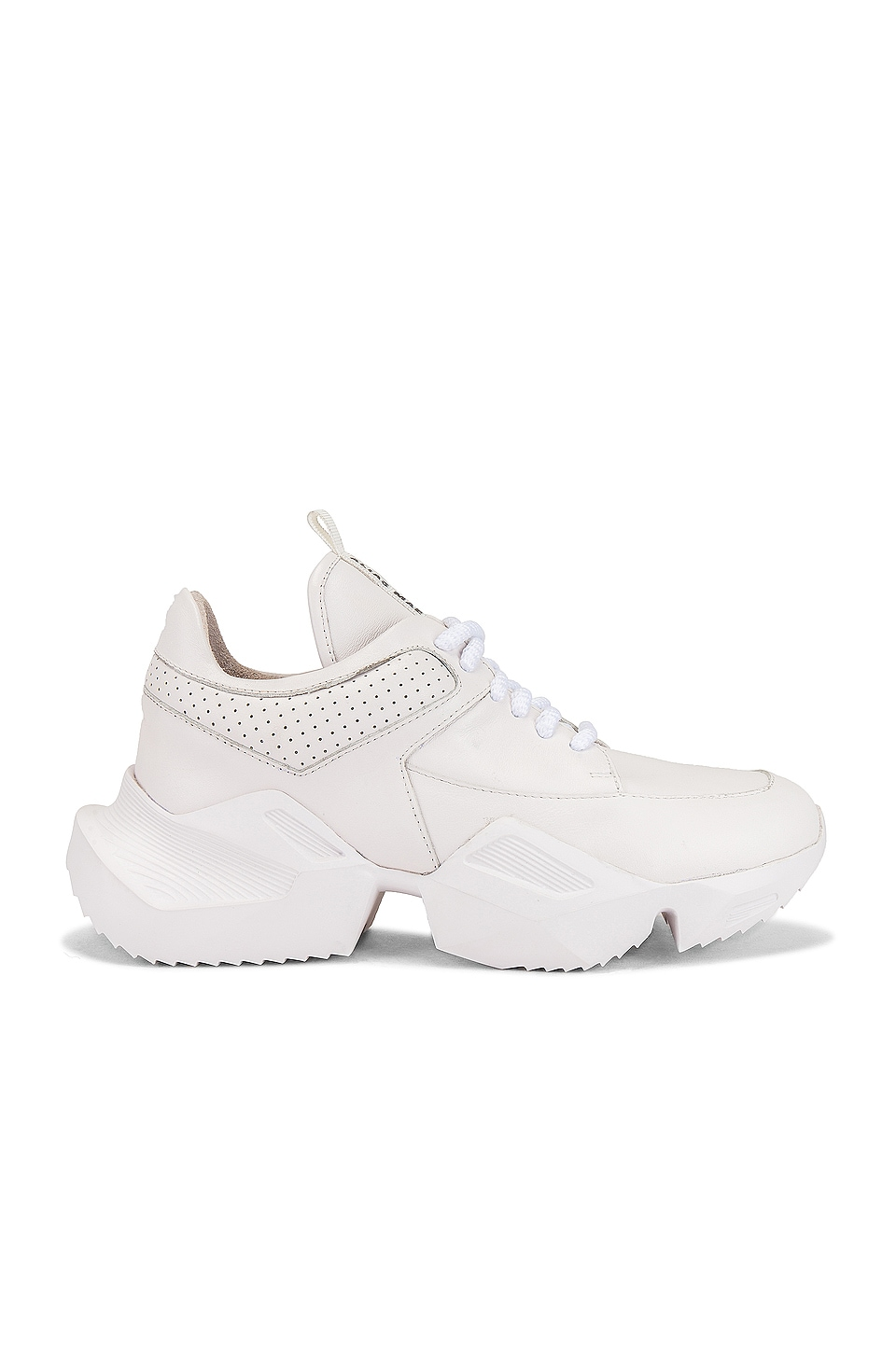Alias Mae Tommy Sneaker in Cream Leather