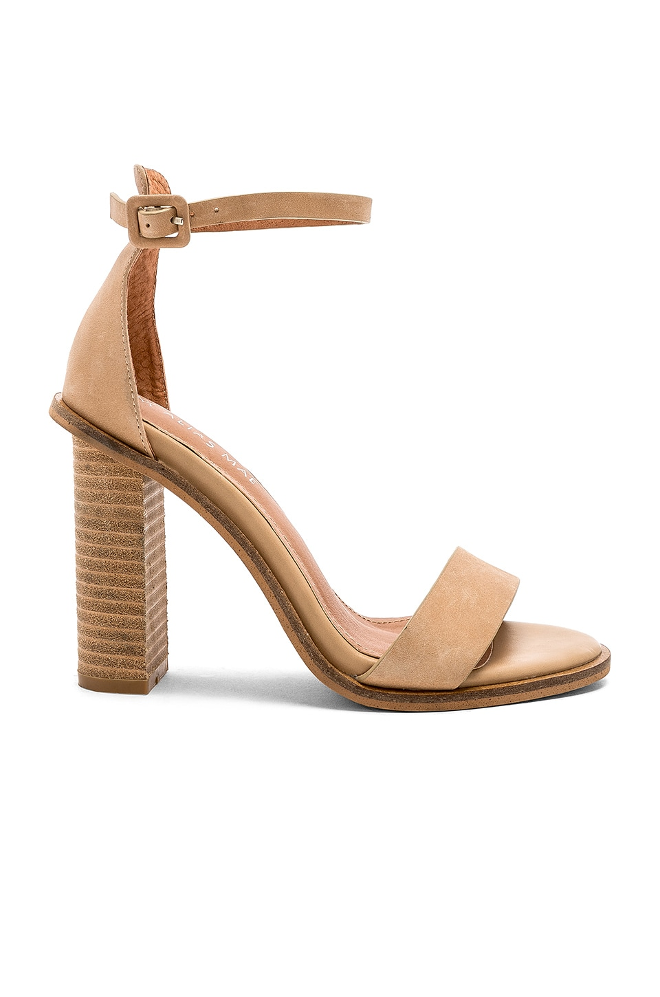 Alias Mae Addax Heel in Natural Leather