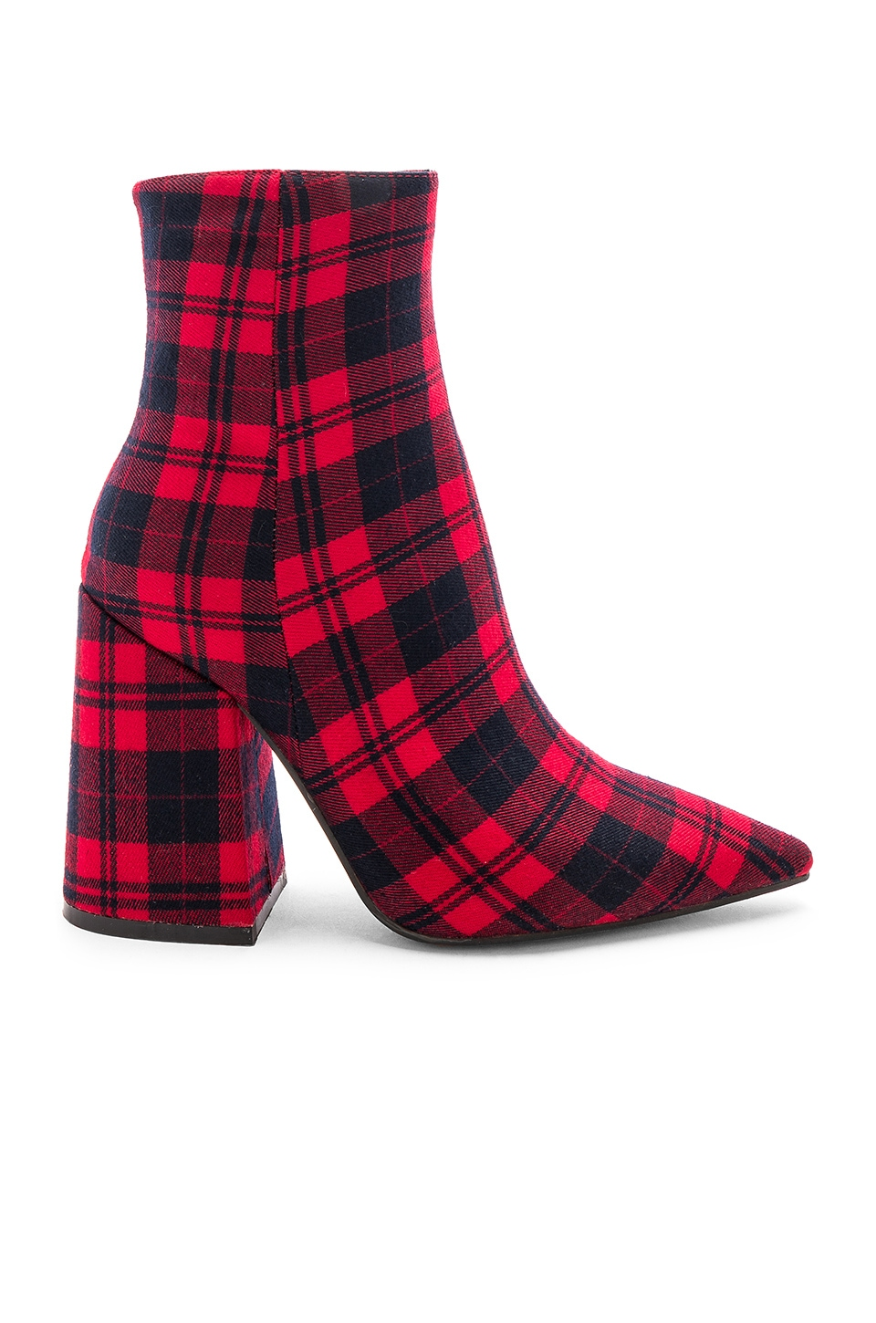 Alias Mae Ahara Bootie in Red Tartan