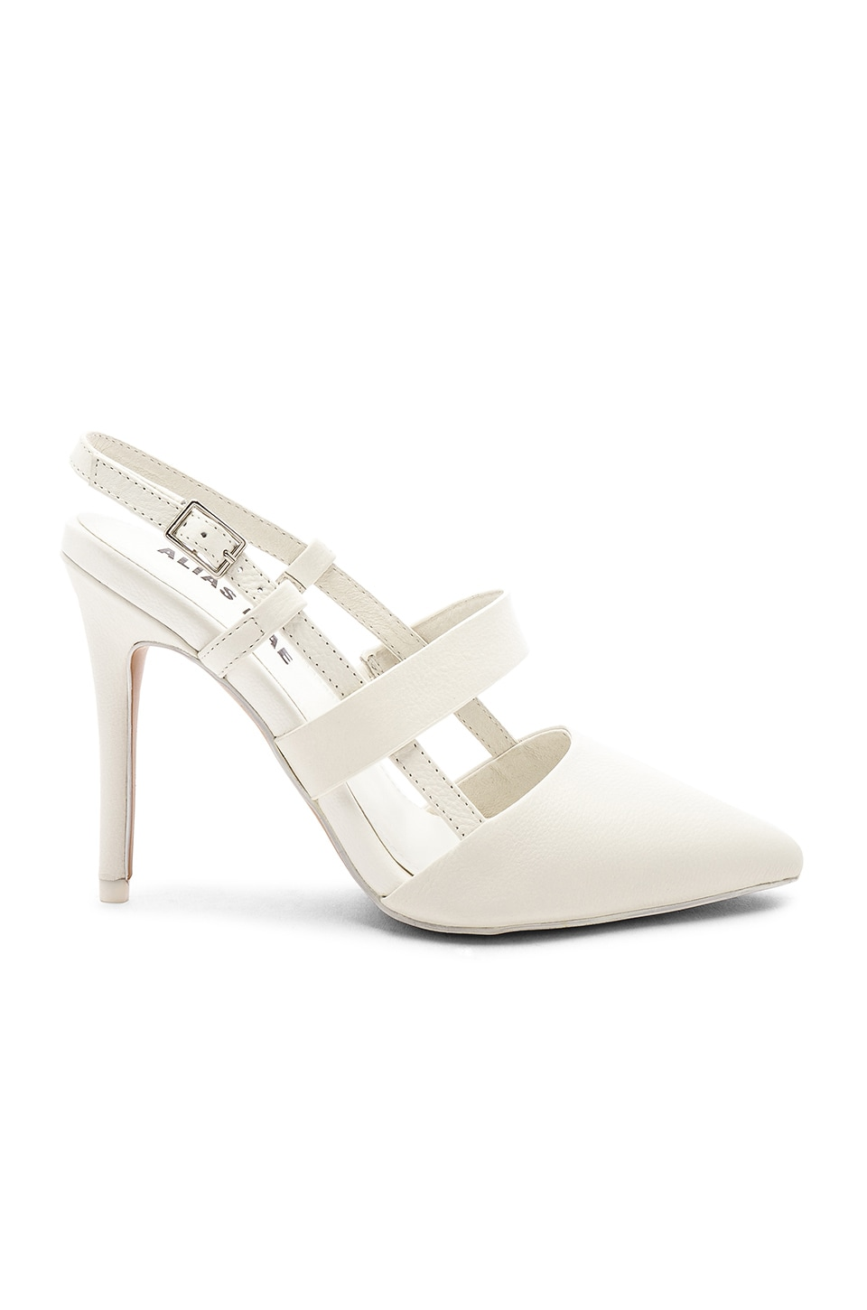 Alias Mae Tyla Heel in White
