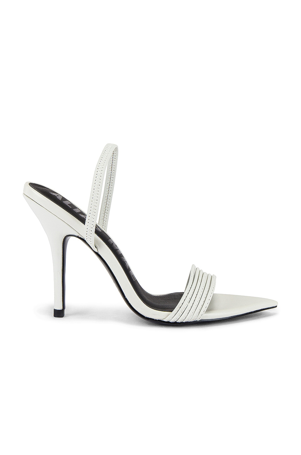 Alias Mae Xanthe Heel in Ivory Leather