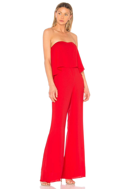 8394d602d6e Amanda Uprichard Topanga Jumpsuit in Lipstick Red