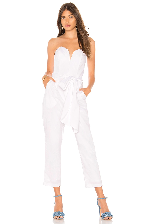 Amanda Uprichard Cherri Jumpsuit in White