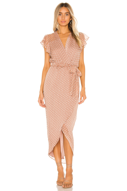 Amanda Uprichard X REVOLVE Martinique Dress in Embroidered Dot