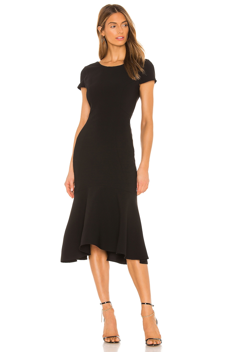 Amanda Uprichard Evalina Dress in Black