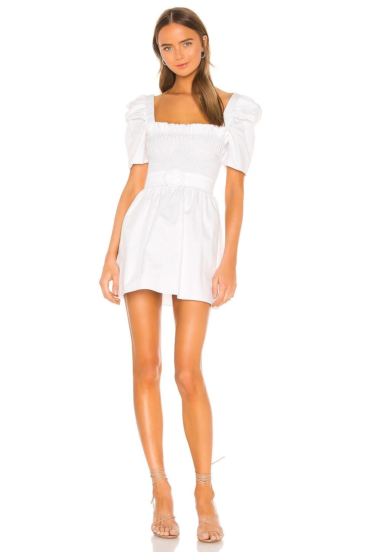 Amanda Uprichard X REVOLVE Marisol Dress in White Cotton