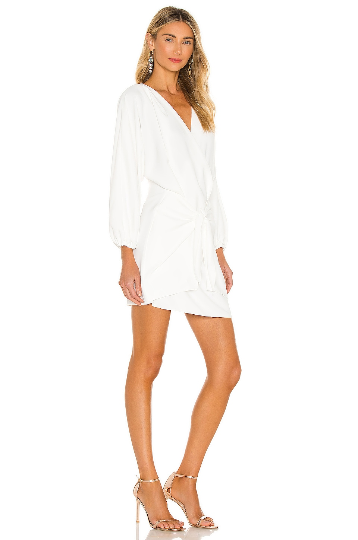 Amanda Uprichard Calabra Dress in Ivory