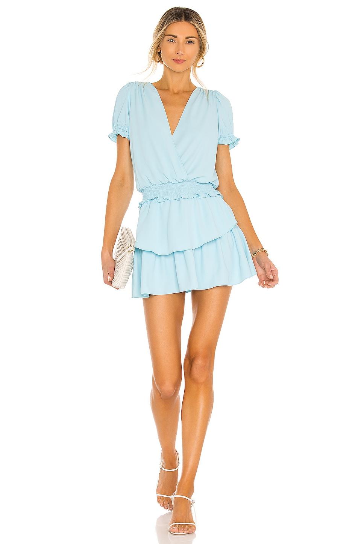 Amanda Uprichard Velma Dress in Ice Blue