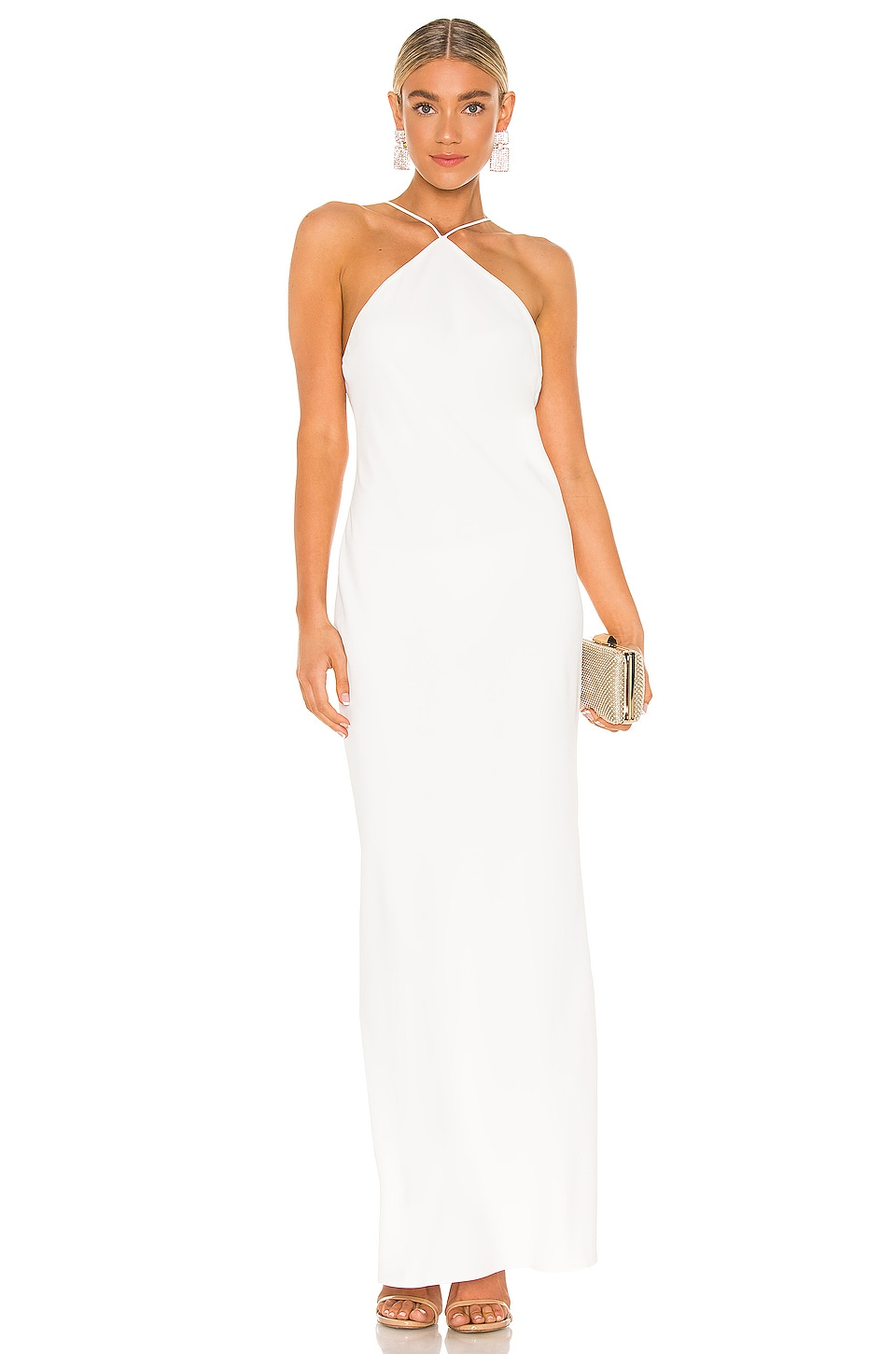 Amanda Uprichard X REVOLVE Riesling Gown in Ivory