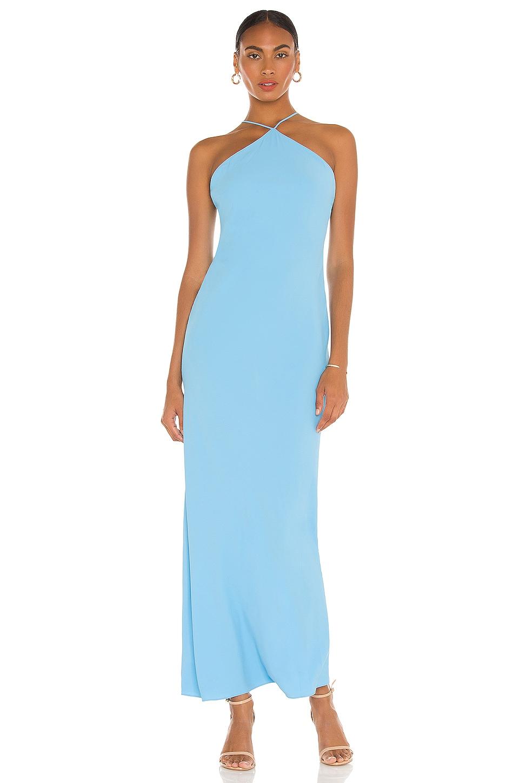 Amanda Uprichard X REVOLVE Riesling Dress in Pacific