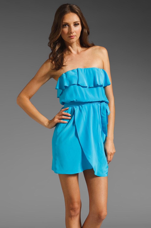 Amanda Uprichard Joan Dress in Aqua