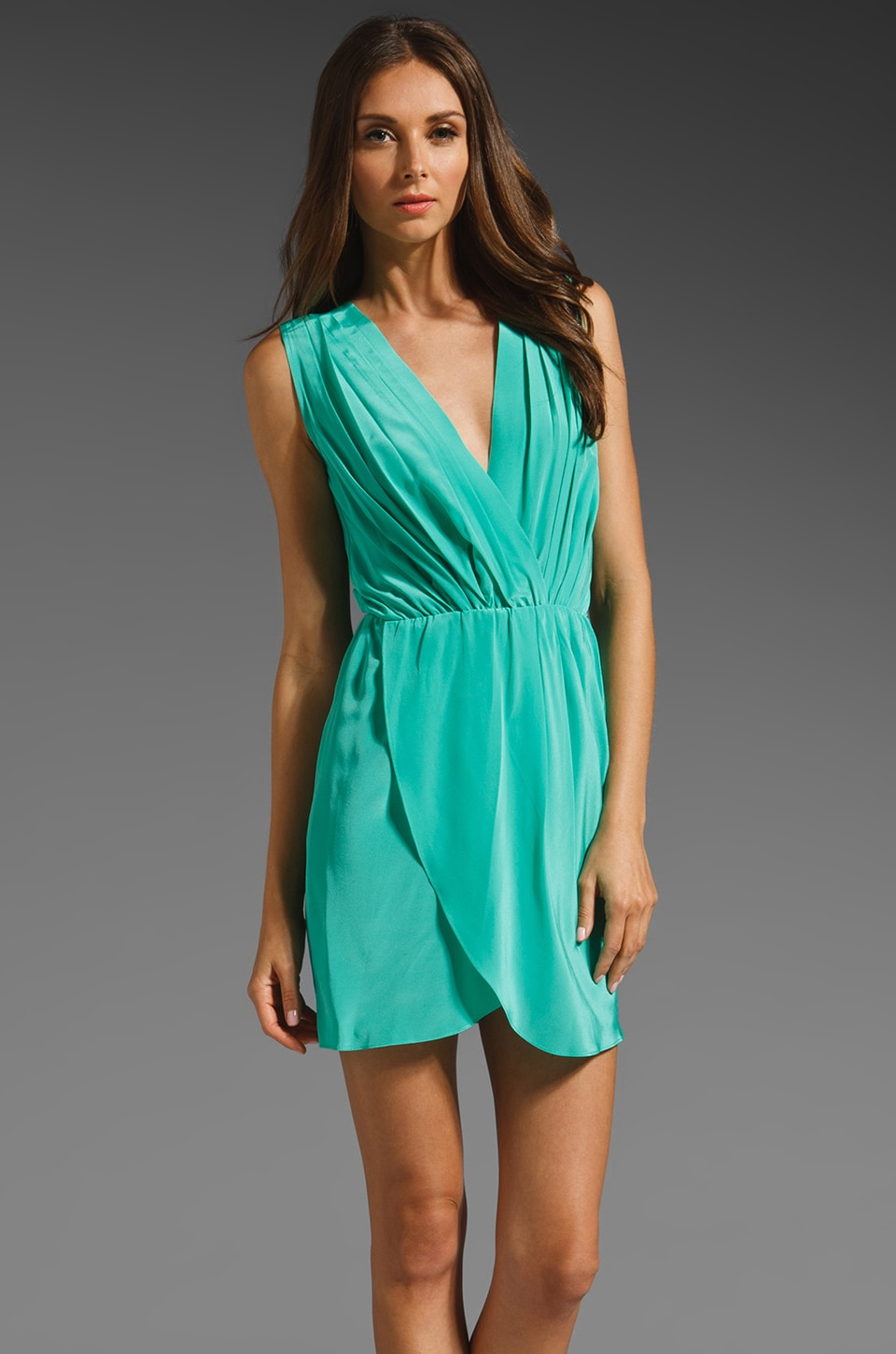 Amanda Uprichard Crystal Dress in Mint