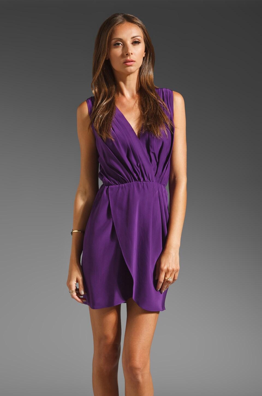 Amanda Uprichard Crystal Dress in Grape